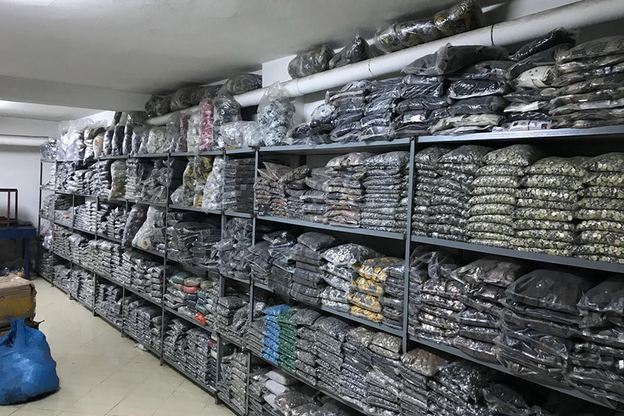 More Than 300,000 Pieces of Counterfeit Labels for Garments