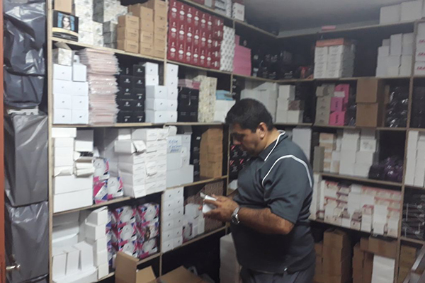 Over 800,000 Pieces of Counterfeit Cosmetics were Confiscated