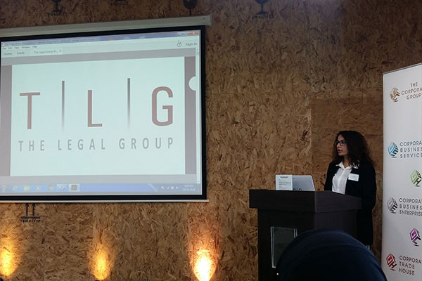 Ms Kochi Vasylyeva Represents TLG at Network2Connect event