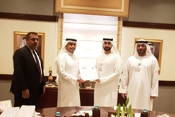 TLG Meets with Sharjah Economic Development Department