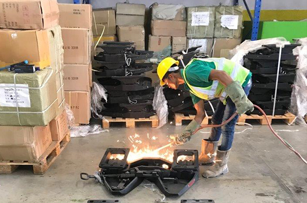 TLG leads information leads to destruction of counterfeit automotive parts