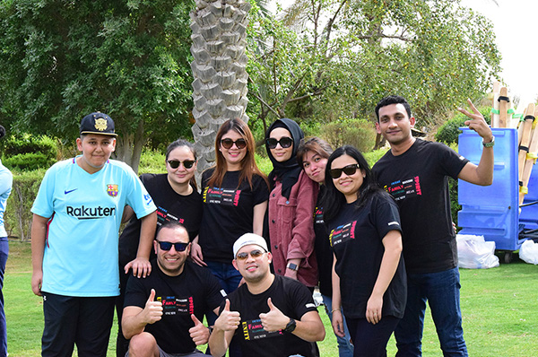 TLG hosts annual team building session 2019 at Bab Al Shams Resort.