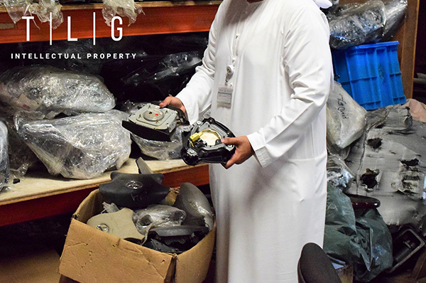 Fake airbag manufacturer raided in UAE by TLG and Authorities