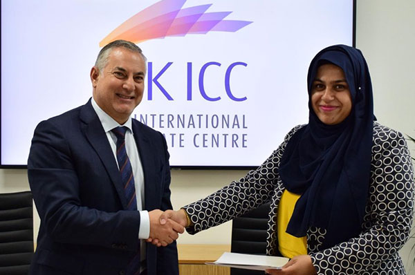 The signing of a memorandum of understanding with RAKICC