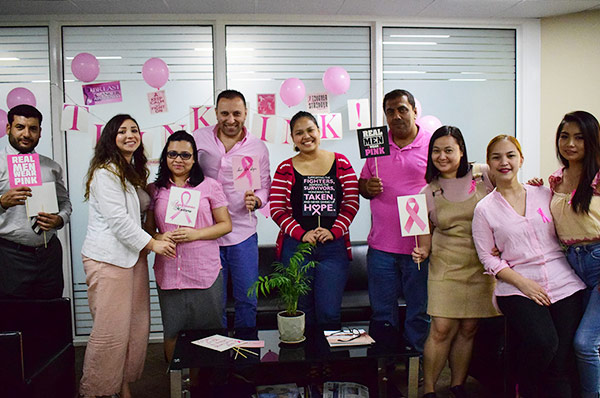 TLG raises breast cancer awareness