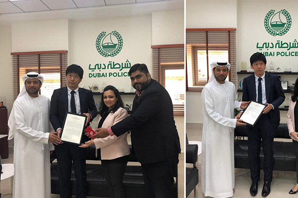 TLG and Toyota Motor Corporation honor Dubai Police