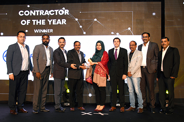 TLG presents ''The Contractor of the Year Award''