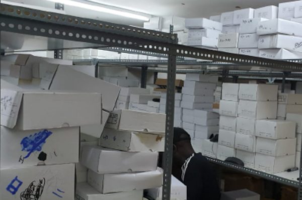 TLG conducts a massive raid on counterfeit glasses in Dubai