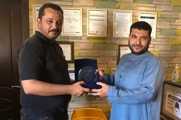 TLG Award winner of the year 2019 in contribution to recycling and supporting the initiative of greener Dubai