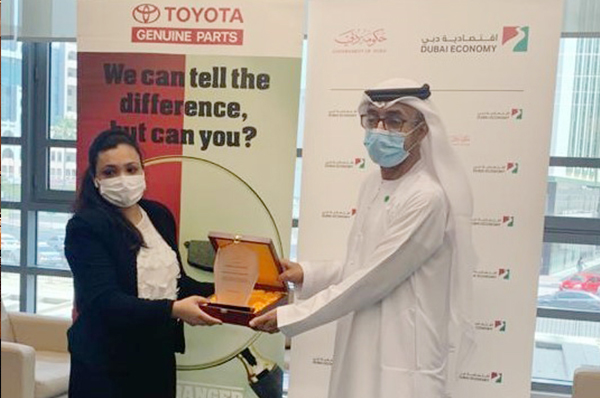 TLG Honoring Dubai DED For Protection and Enforcement of IPR